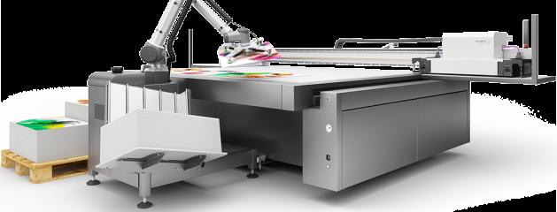 Ψηφιακή εκτύπωση μεγάλων διαστάσεων - Μηχανημα UV Flatbet